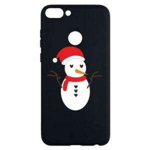 Huawei P Smart Case Snowman in hat