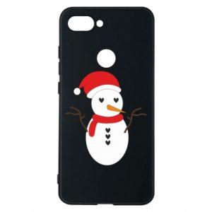Xiaomi Mi8 Lite Case Snowman in hat