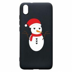 Xiaomi Redmi 7A Case Snowman in hat
