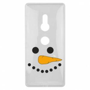 Sony Xperia XZ2 Case Snowman
