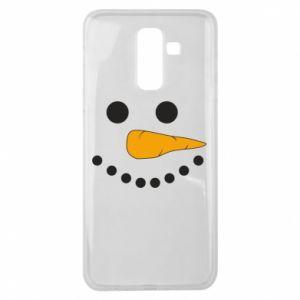 Samsung J8 2018 Case Snowman