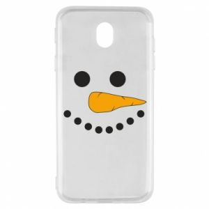 Samsung J7 2017 Case Snowman