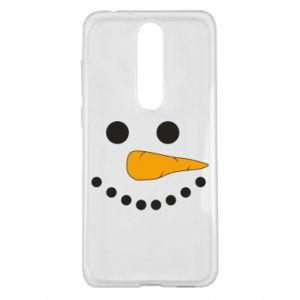 Nokia 5.1 Plus Case Snowman