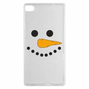 Huawei P8 Case Snowman