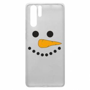 Huawei P30 Pro Case Snowman