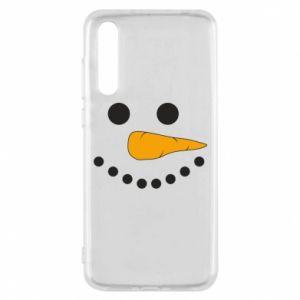 Huawei P20 Pro Case Snowman