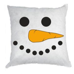 Pillow Snowman