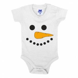 Baby bodysuit Snowman
