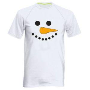 Men's sports t-shirt Snowman