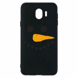 Samsung J4 Case Snowman