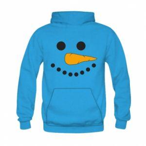 Kid's hoodie Snowman