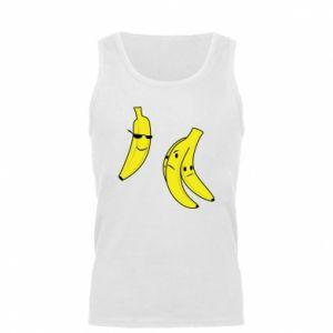 Męska koszulka Banan w okularach - PrintSalon