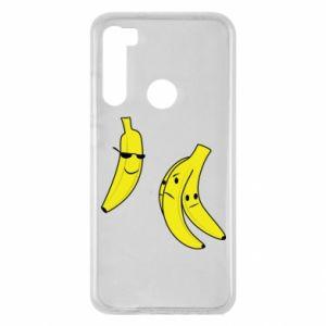 Xiaomi Redmi Note 8 Case Banana in glasses