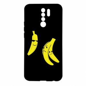 Etui na Xiaomi Redmi 9 Banan w okularach
