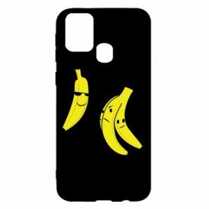 Etui na Samsung M31 Banan w okularach