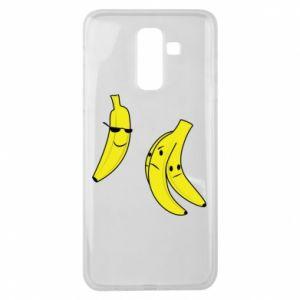 Etui na Samsung J8 2018 Banan w okularach