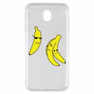 Etui na Samsung J7 2017 Banan w okularach