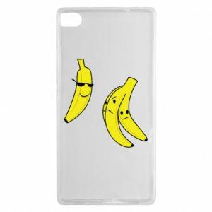 Etui na Huawei P8 Banan w okularach