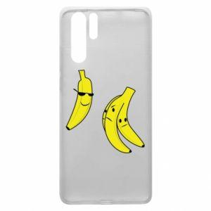 Etui na Huawei P30 Pro Banan w okularach