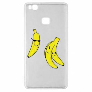 Etui na Huawei P9 Lite Banan w okularach