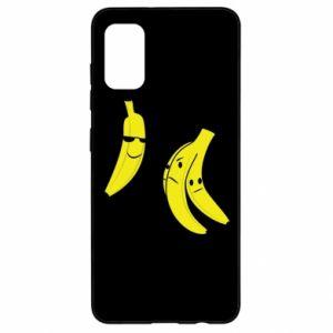 Etui na Samsung A41 Banan w okularach