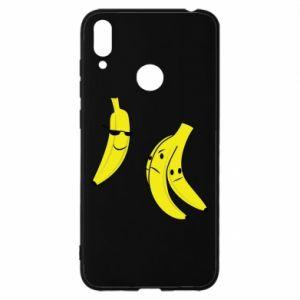Etui na Huawei Y7 2019 Banan w okularach