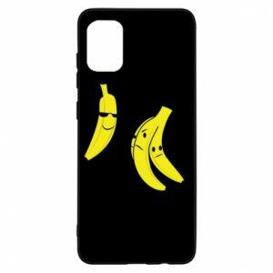 Etui na Samsung A31 Banan w okularach