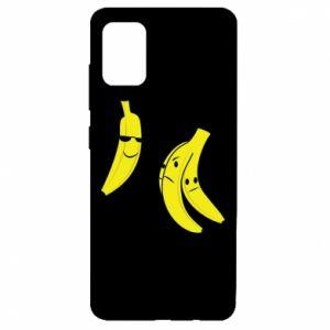 Etui na Samsung A51 Banan w okularach