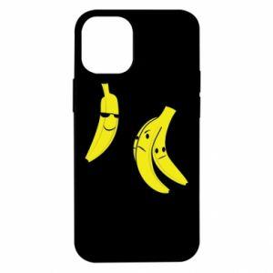 Etui na iPhone 12 Mini Banan w okularach