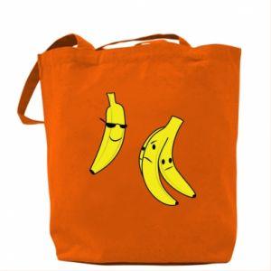 Bag Banana in glasses