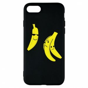 Phone case for iPhone 8 Banana in glasses