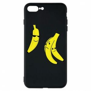 Phone case for iPhone 8 Plus Banana in glasses