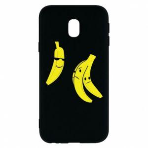 Phone case for Samsung J3 2017 Banana in glasses
