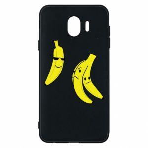 Phone case for Samsung J4 Banana in glasses