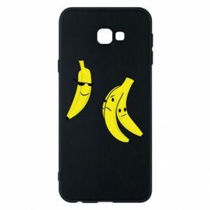 Phone case for Samsung J4 Plus 2018 Banana in glasses