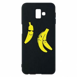 Phone case for Samsung J6 Plus 2018 Banana in glasses