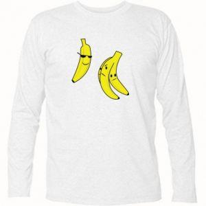 Koszulka z długim rękawem Banan w okularach - PrintSalon