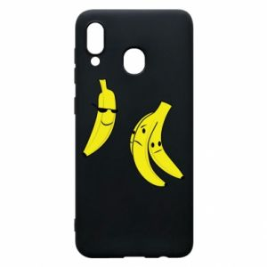 Phone case for Samsung A30 Banana in glasses