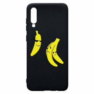 Phone case for Samsung A70 Banana in glasses