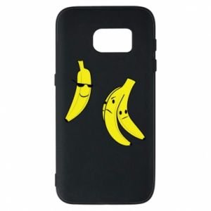 Phone case for Samsung S7 Banana in glasses