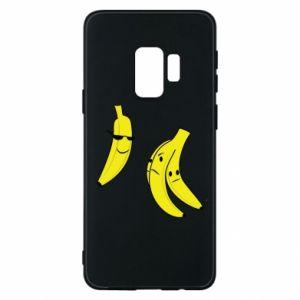 Phone case for Samsung S9 Banana in glasses