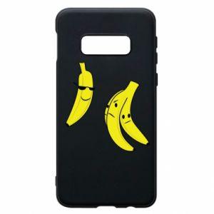 Phone case for Samsung S10e Banana in glasses