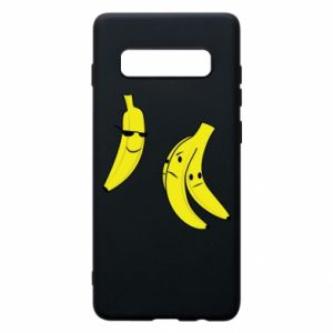 Phone case for Samsung S10+ Banana in glasses