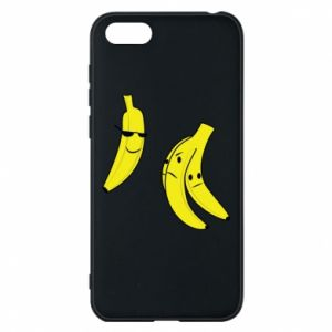 Phone case for Huawei Y5 2018 Banana in glasses