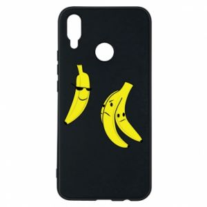 Phone case for Huawei P Smart Plus Banana in glasses