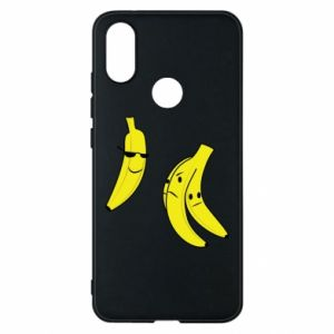 Phone case for Xiaomi Mi A2 Banana in glasses