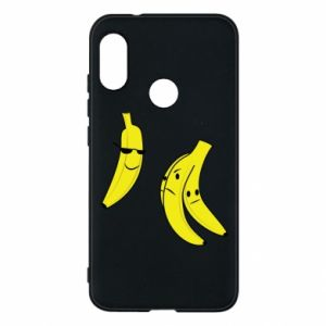 Phone case for Mi A2 Lite Banana in glasses