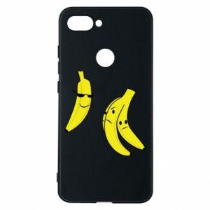 Phone case for Xiaomi Mi8 Lite Banana in glasses