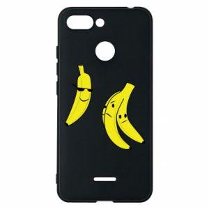 Phone case for Xiaomi Redmi 6 Banana in glasses