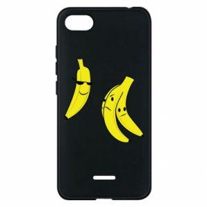 Phone case for Xiaomi Redmi 6A Banana in glasses
